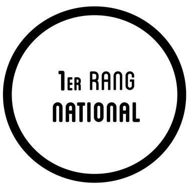 1er rang national