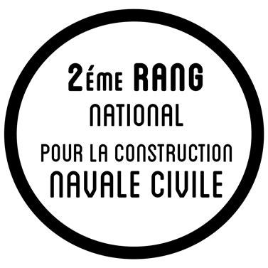 2eme rang mondial pour la construction navale civile