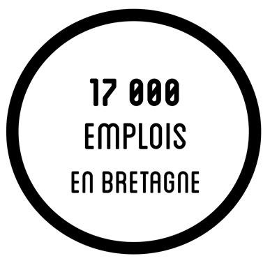 17000 employés en bretagne