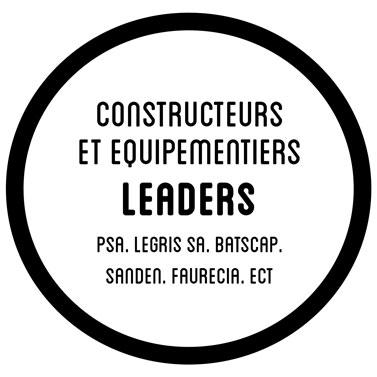 Des constructeurs automobile et équipementiers leaders