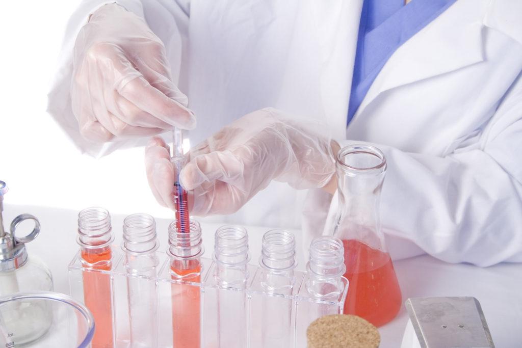 Recherche srur les nouvelles thérapies en laboratoire