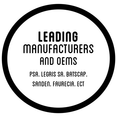 Leading manufacturer and oems