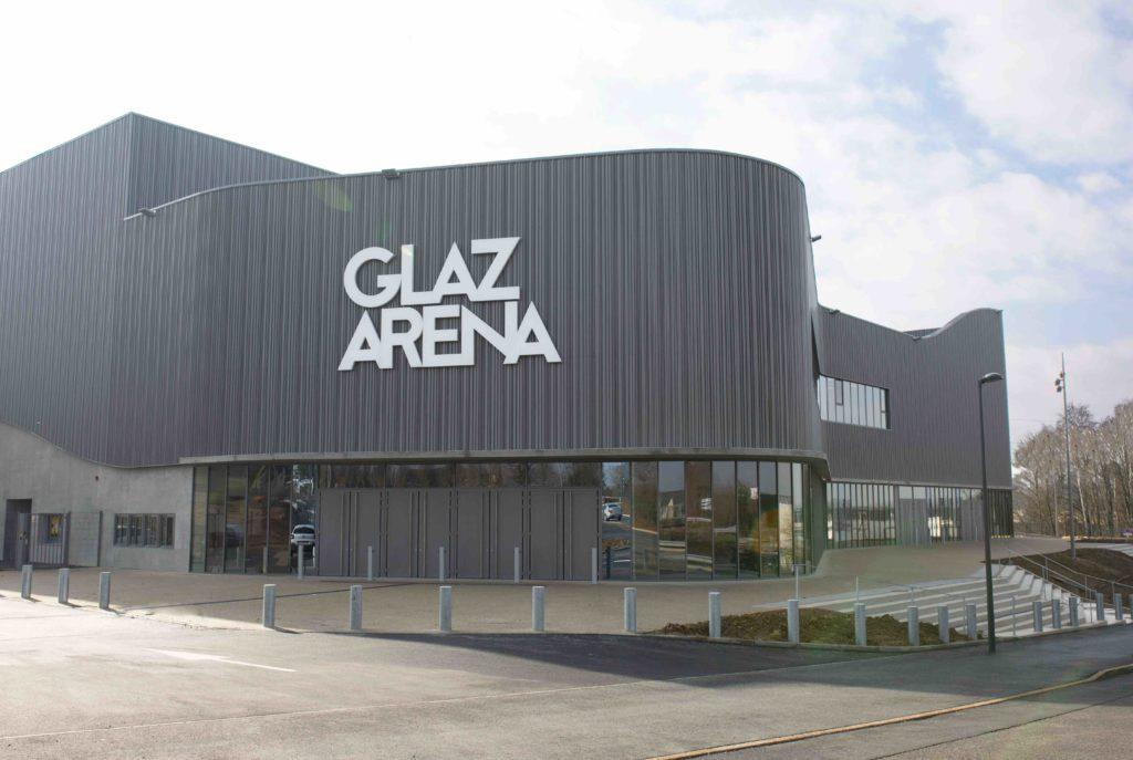 Glaz Arena - façade extérieure