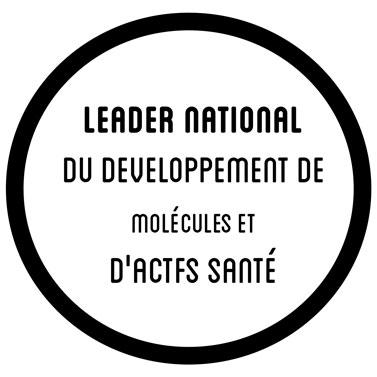 Leader national du développement de molécules et d'actifs santé