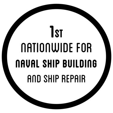 1st nationwide for naval ship building