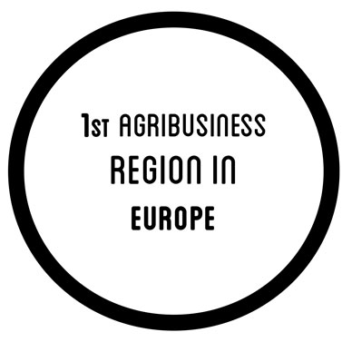 1st agribusiness region in europe