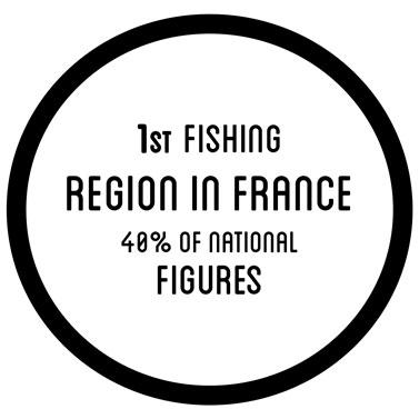 1st fishing region in France
