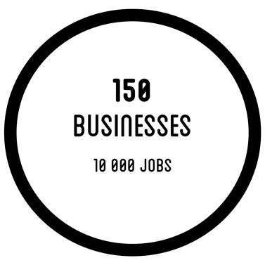 150 business - 10 000 jobs