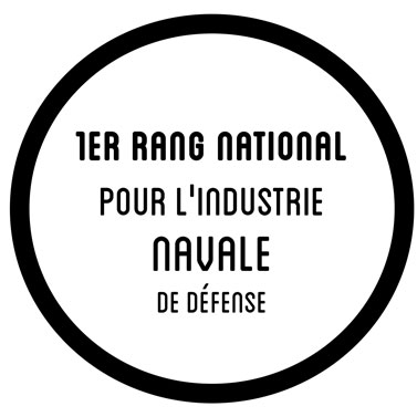 1er rang national pour l'industrie navale de défense