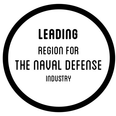 leading region for the naval defense industry