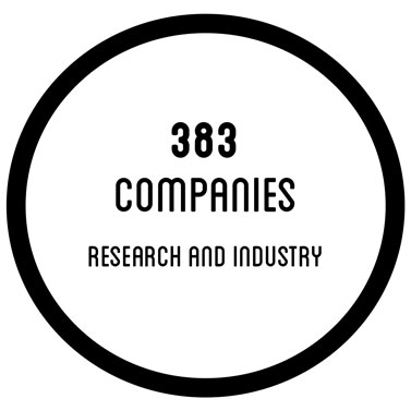 383 companies