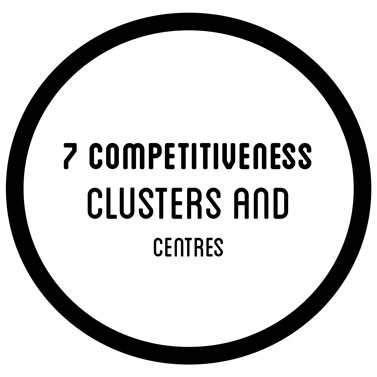 7 competitiveness clsuters and centres