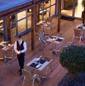La terrasse de l'hôtel Océania à Rennes