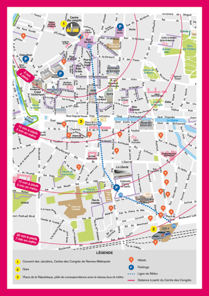 Rennes map