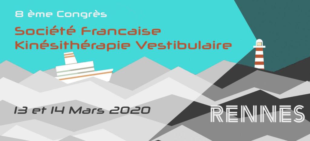 8e congrès de la SFKV en 2020 à Rennes