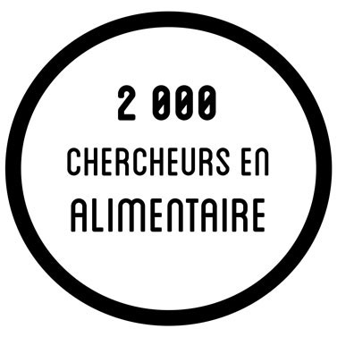 2000 chercheurs en alimentaire