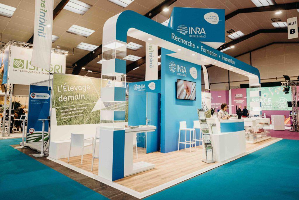 Exemple de stand - Agence Bosco - Le Rheu