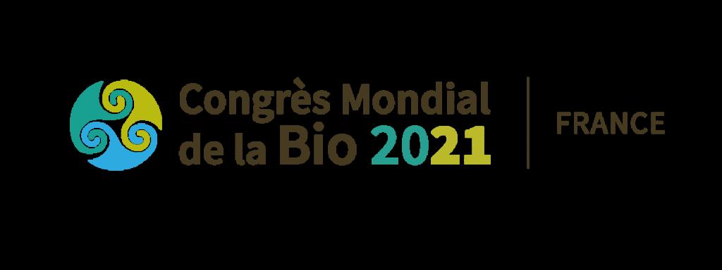 Logo Congrès Mondial de la Bio 2021