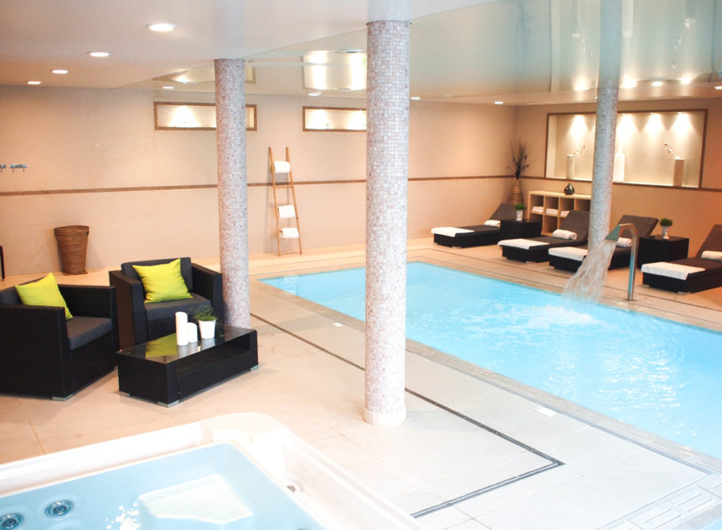 Spa et piscine du Novotel Rennes Centre Gare ©Novotel Rennes Centre Gare