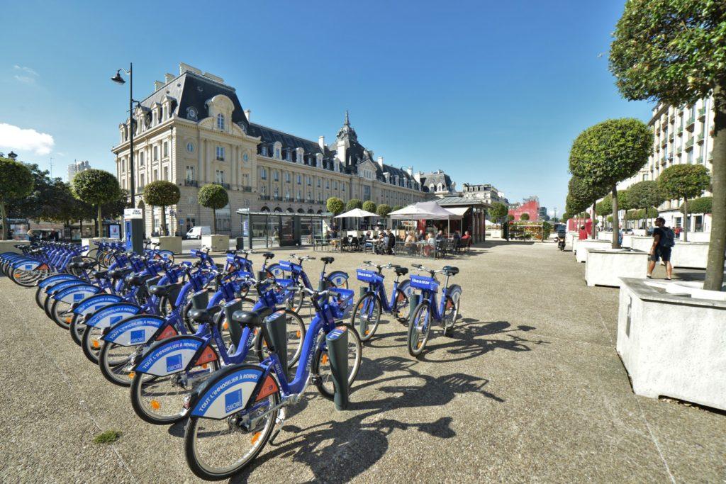 """Velostar"" self-service bikes"