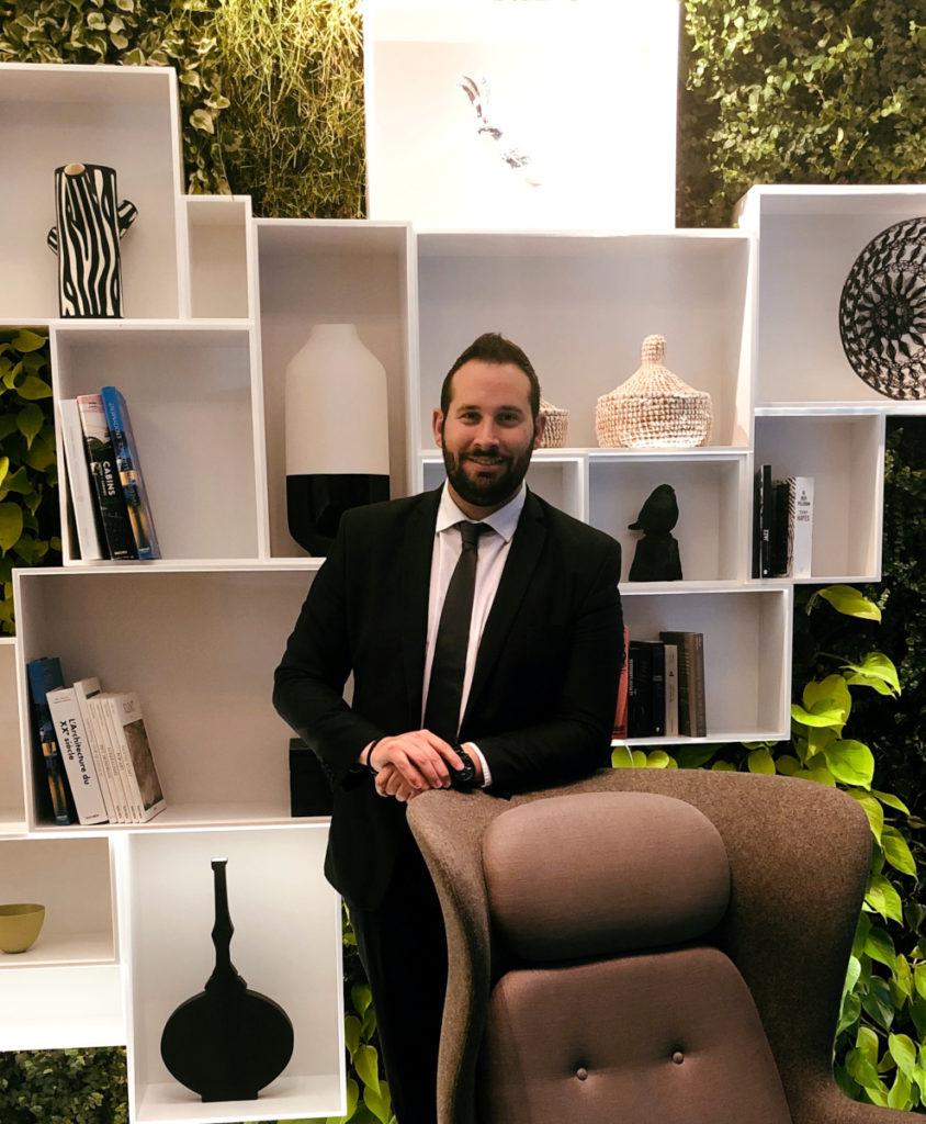 Gildas Ménard, directeur des hôtels Best Western Premier Collection - Hôtel Le Saint-Antoine et The Originals City Hôtel Le Sévigné.