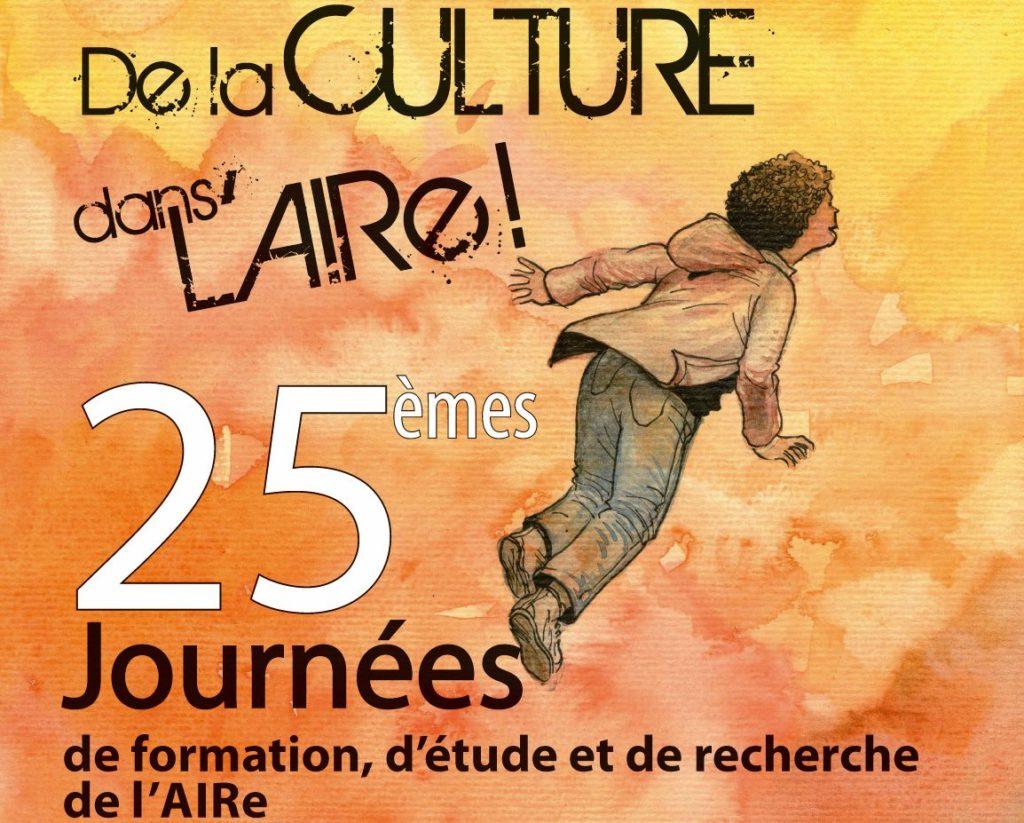 Visuel des 25èmes journées de l'AIRe au Couvent des Jacobins à Rennes