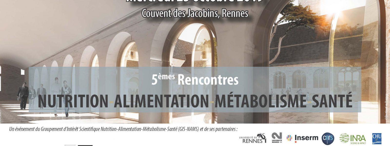 Rencontres Nutrition Alimentation Métabolisme Santé