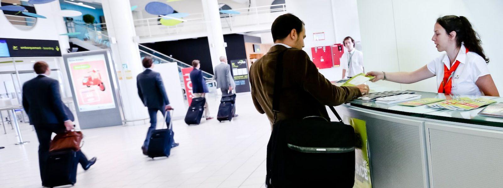 Comptoir Destination Rennes à l'aéroport Rennes/St Jacques