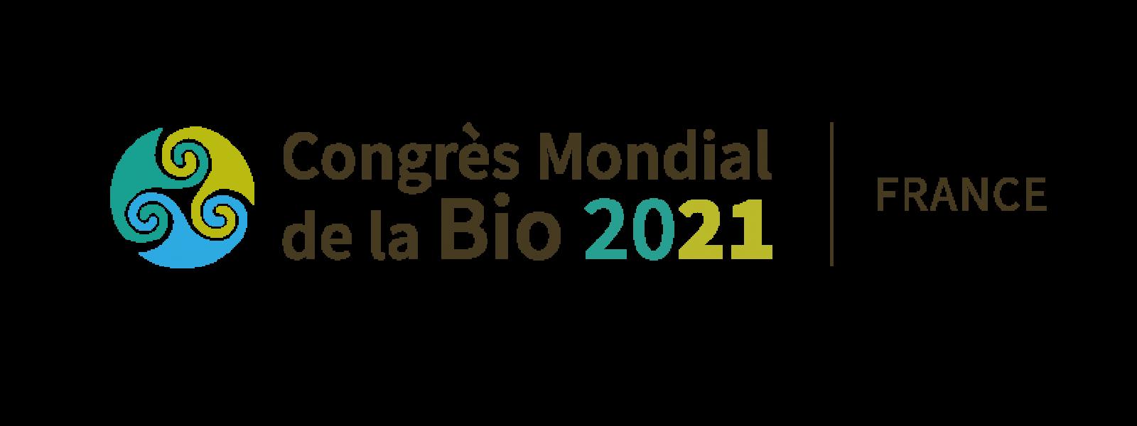 Congrès Mondial de la Bio 2021 à Rennes