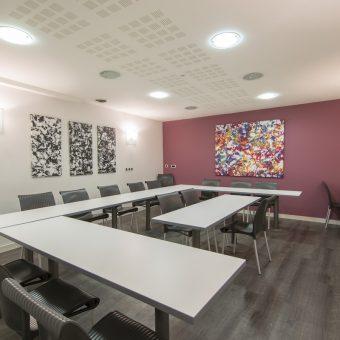 Hôtel des Lices à Rennes - salle de réunion