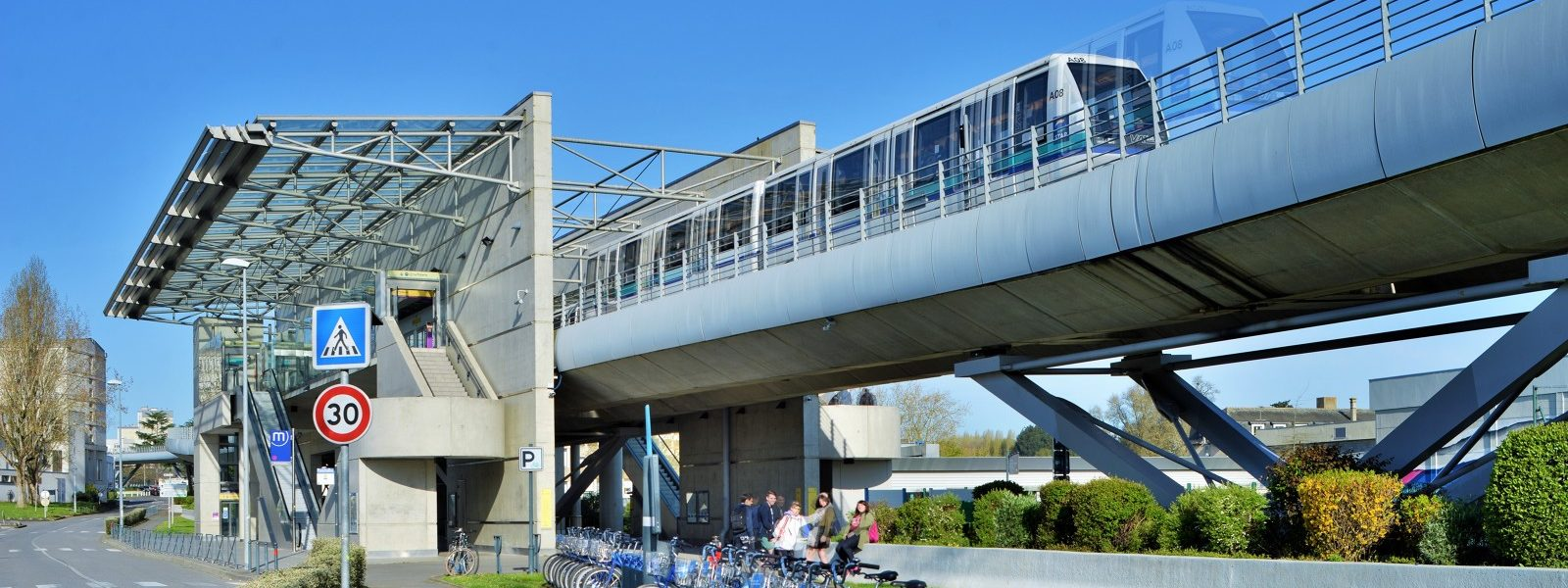 station métro Pontchaillou Rennes