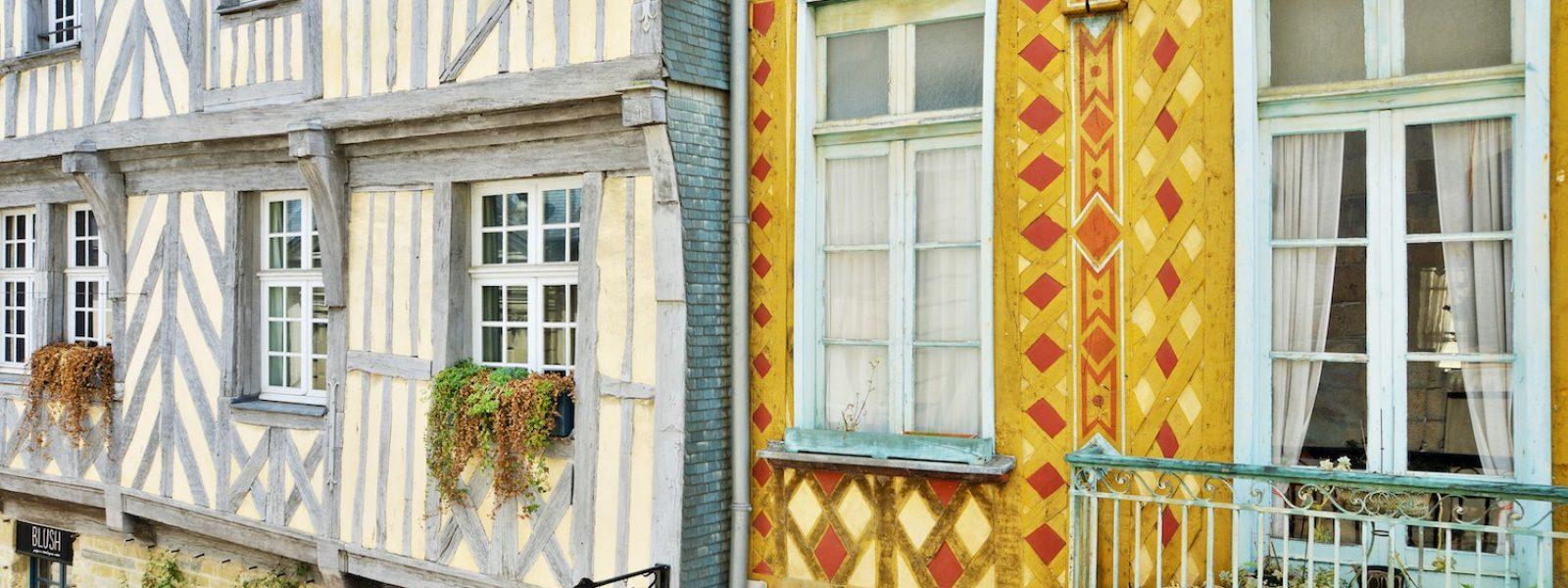Maisons à pans-de-bois de Rennes