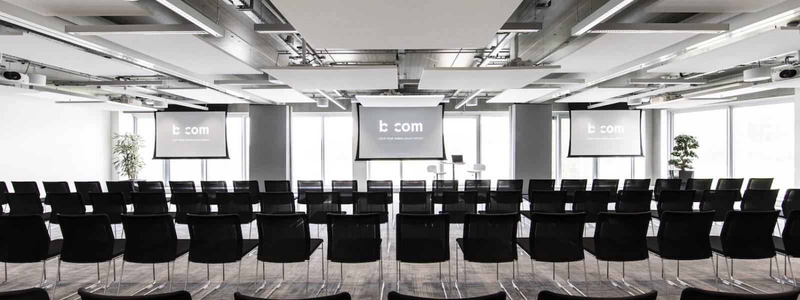bcom *l'Espace*à Rennes - salle de réunion