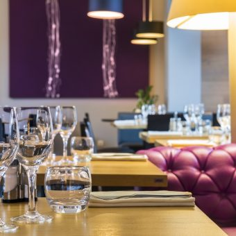 Domaine de Cicé Blossac - its restaurant