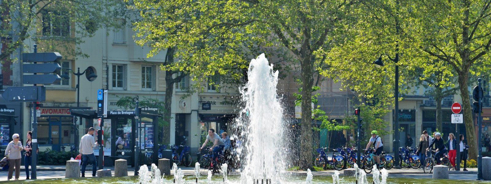 Fontaine Place de Bretagne