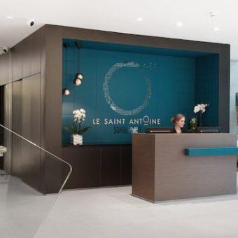 Le Saint-Antoine Hôtel et Spa.