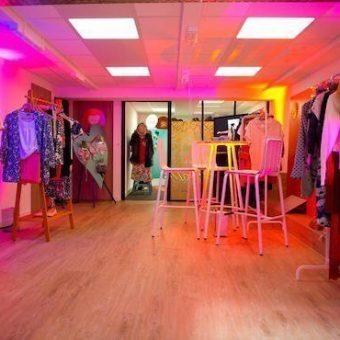 Le Loft, showroom.