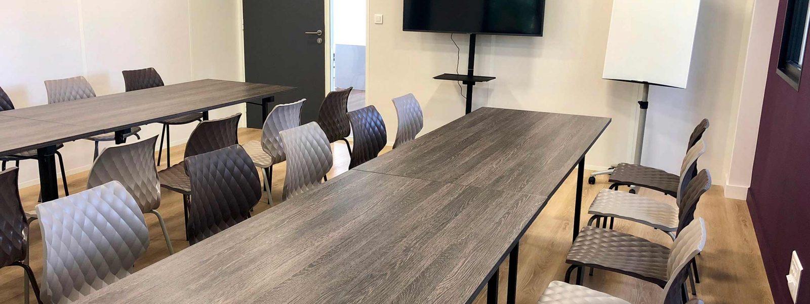 Salle de réunion à Work Sweet Home à Bruz